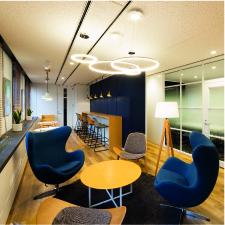 フィスカースジャパン オフィス Café space